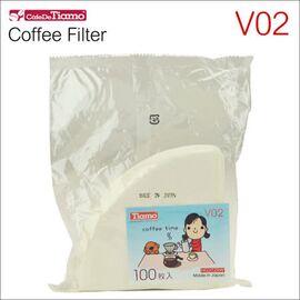 Tiamo HG3725W Бумажные фильтры V02 белые 100 шт, фото