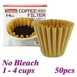 Tiamo HG3254 Бумажные фильтры K02 натуральные 50 шт, фото