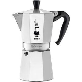 Bialetti 1165 Moka Express на 9 чашек Гейзерная кофеварка, фото