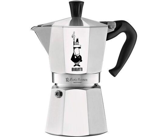 Bialetti 1163 Moka Express на 6 чашек Гейзерная кофеварка, фото