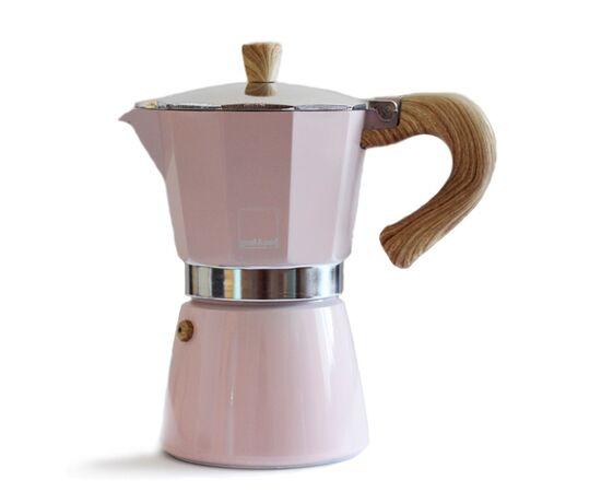 Gnali&Zani Venezia Гейзерная кофеварка на 9 чашек розовая, фото