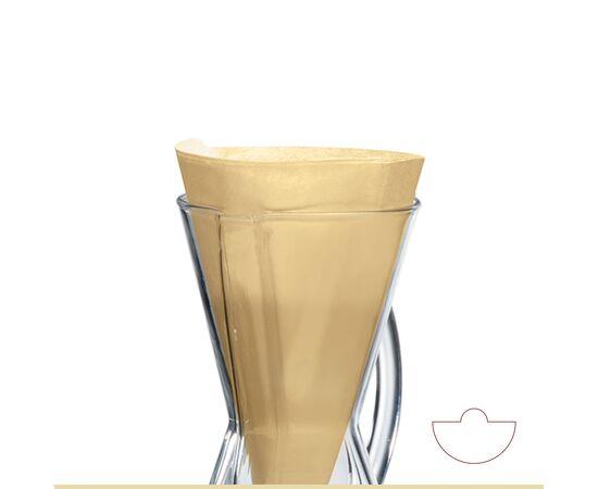 Chemex FP-2N Фильтры натуральные для кофеварок на 1-3 чашки 100 шт, фото