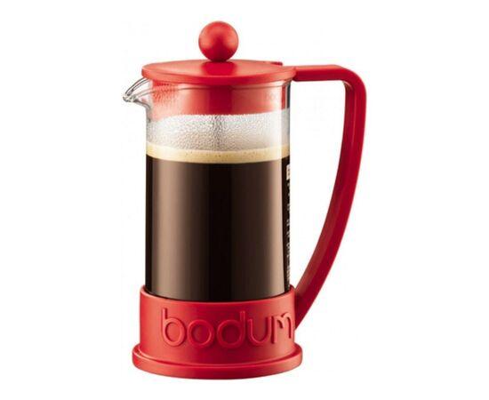 Bodum 10948-294 Brazil Френч-пресс 350 мл красный, фото