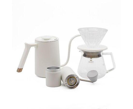 Timemore C2 Pour Over Set Fish Youth Kettle набор для заваривания кофе белый, фото